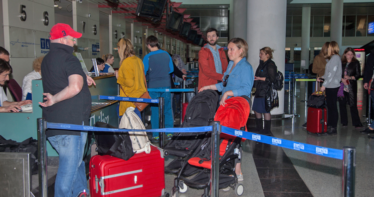 Passenger traffic up by 25% at Georgian airports in Jan-Feb 2019