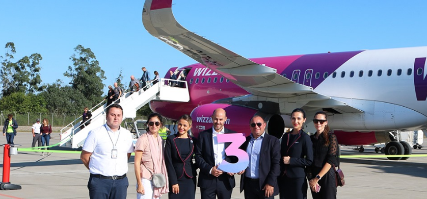 Seven additional destinations for direct flights from Kutaisi International Airport in September