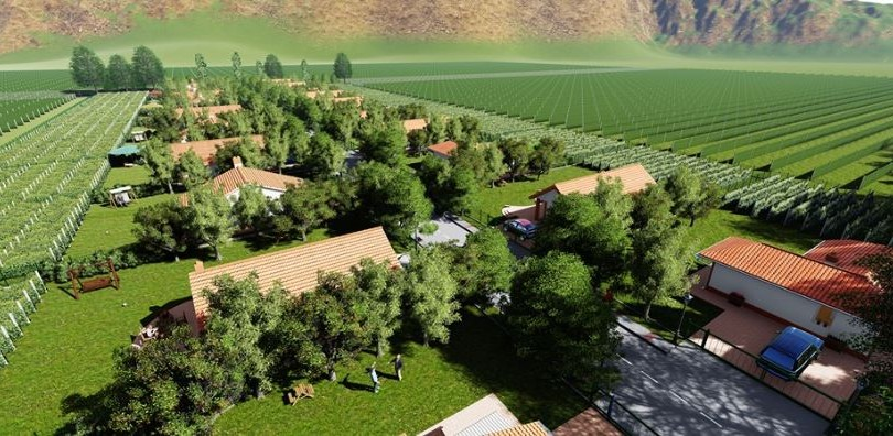 Wine Village to be Built in Kvareli