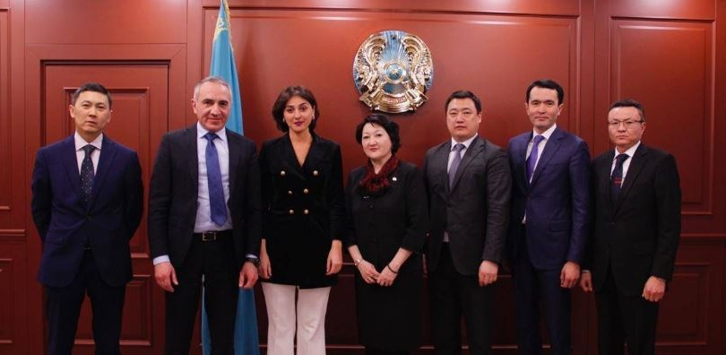 Georgia Caries out First Major Exports of Educational Model to Kazakhstan