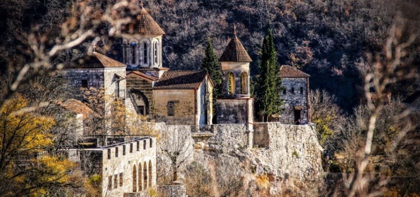 Tourist Infrastructure Arrangement to be Completed at Motsameta Monastery