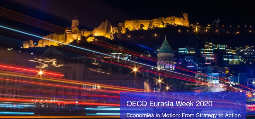 Georgia to host OECD Eurasia Week – Economies in Motion: From Strategy to Action