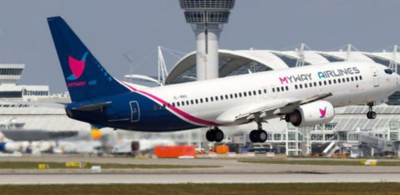 Air Company Myway Airlines to Increase Frequency of Flights in the Direction of Tel Aviv